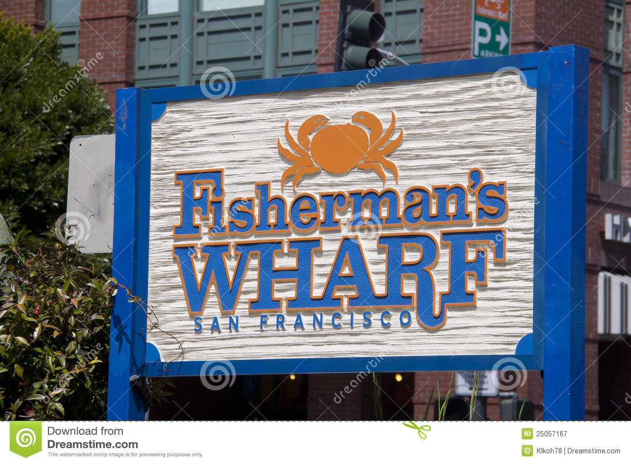 Fisherman Wharf Royalty Free Stock Photography.