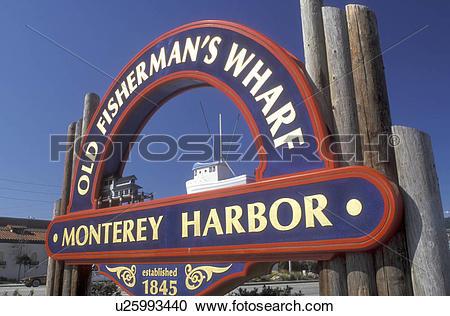 Stock Photography of Monterey, California, CA, Monterey Peninsula.