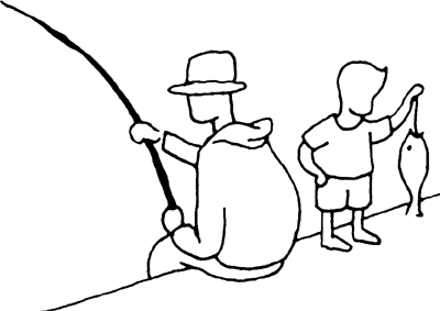 Fishing Birthday Clipart.
