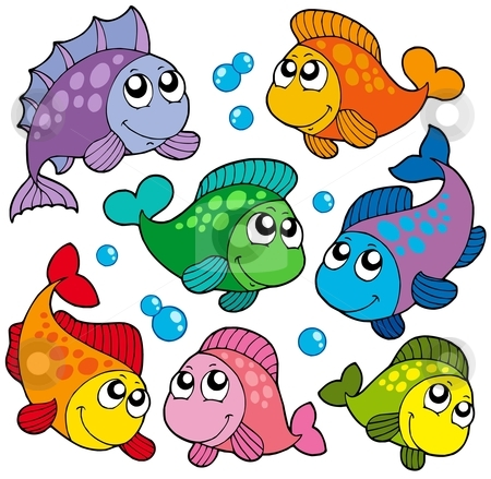 Fishes clip art.