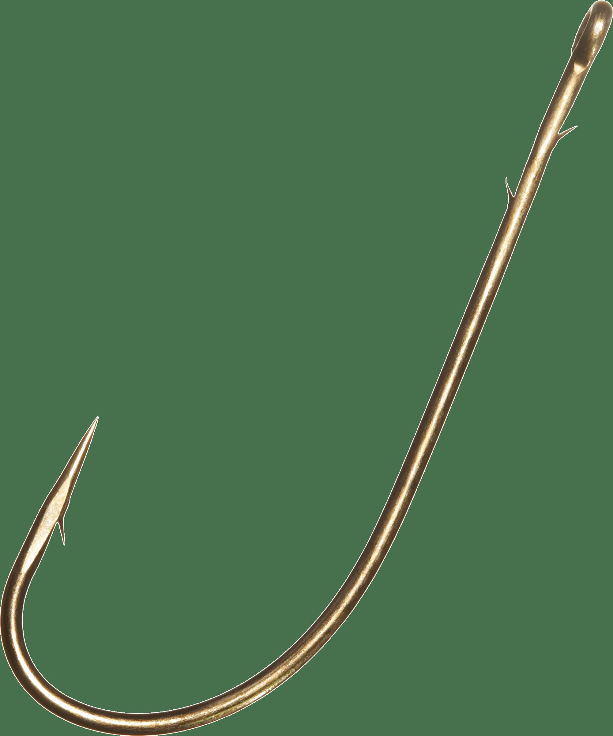Large Fish Hook transparent PNG.