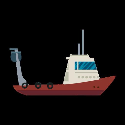Fishing boat line.