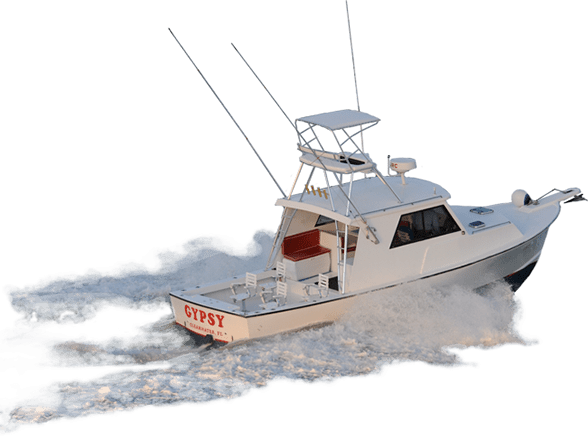 Fishing Boat on the Waves transparent PNG.