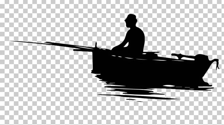 Fisherman Fishing Silhouette PNG, Clipart, Black, Black And White.