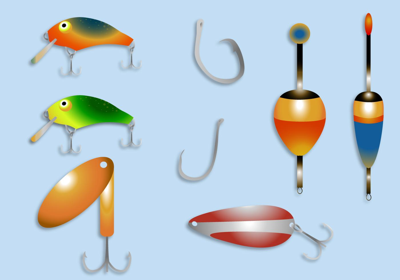 Best Free Clip Art Fishing Lure And Bobber Vector Pictures » Free.