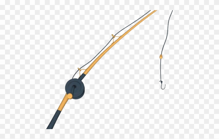 Fishing Rod Clipart Transparent Background.