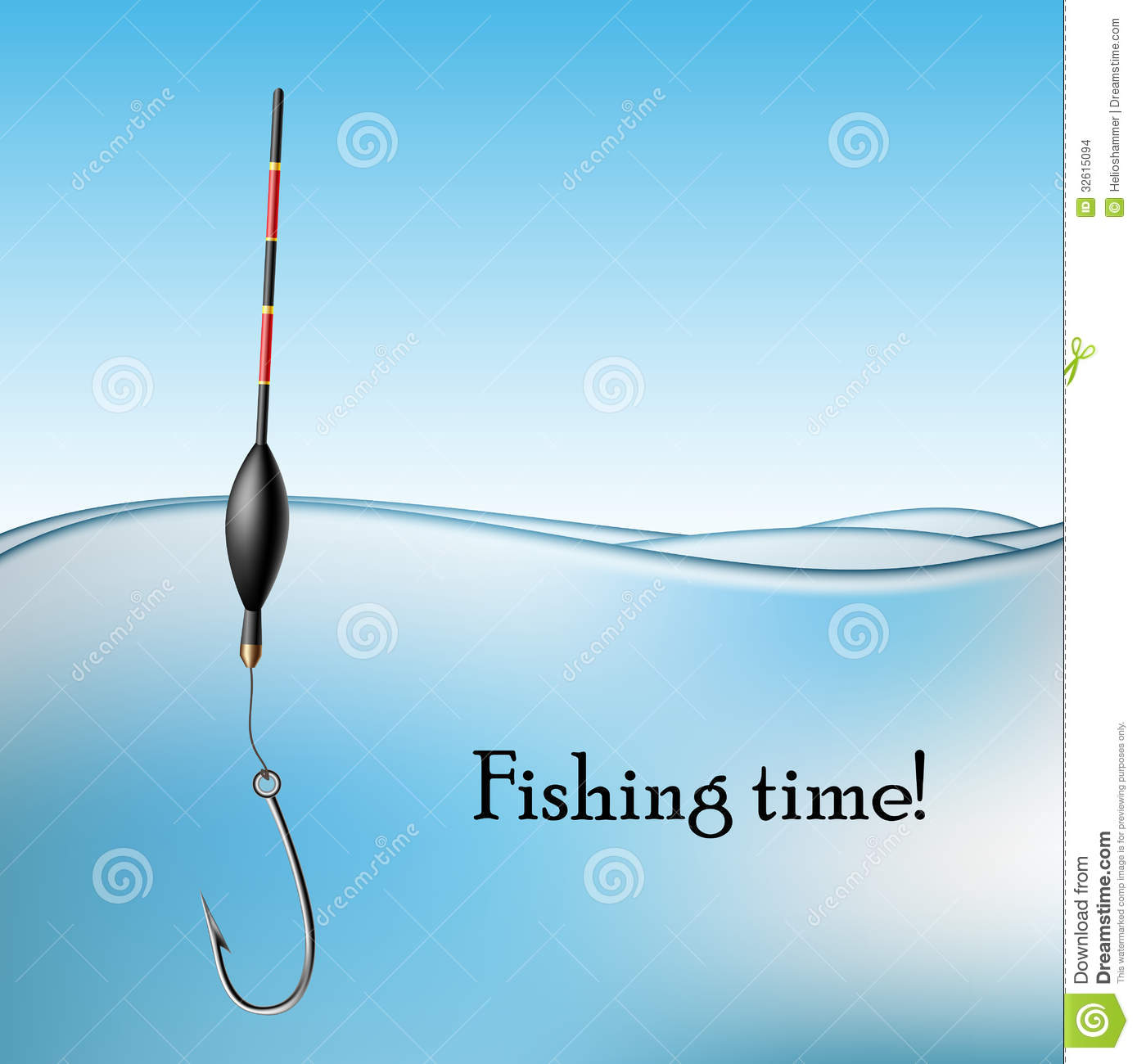 Fishing Float Royalty Free Stock Images.