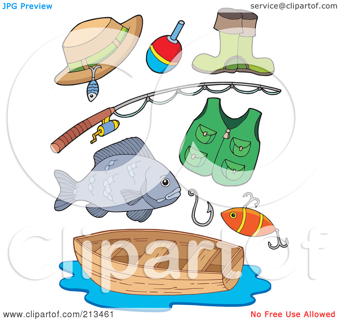 Fishing gear clipart clipground for Free fishing stuff