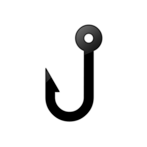 Fishing Hook Clipart transparent PNG.