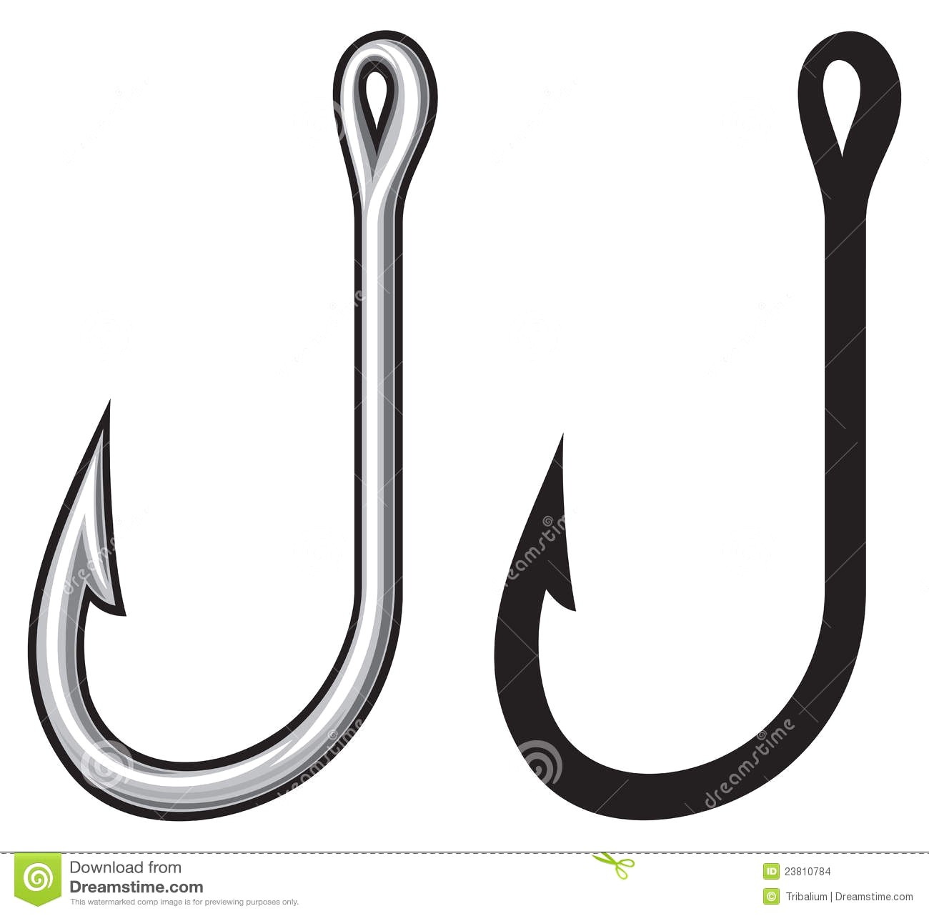 Fishing hook clipart free 4 » Clipart Station.