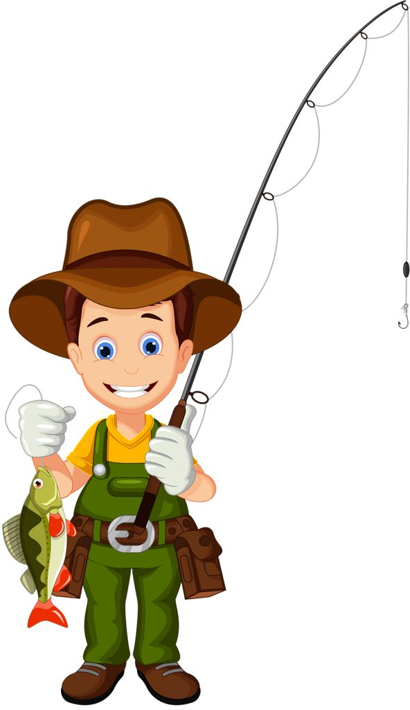 Picture Of A Fisherman Clipart.