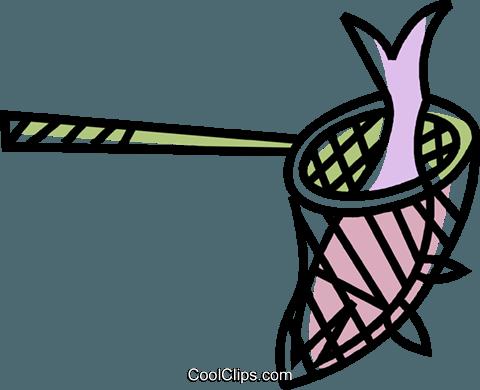fishing net Royalty Free Vector Clip Art illustration.