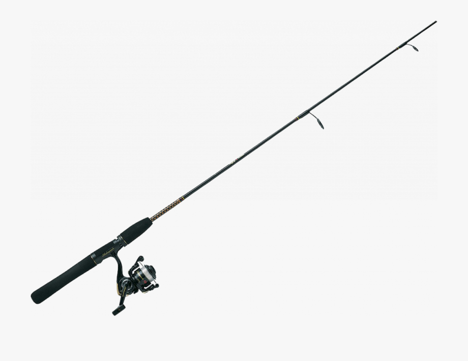 Clip Art Black And White Download Clipart Fishing Pole.