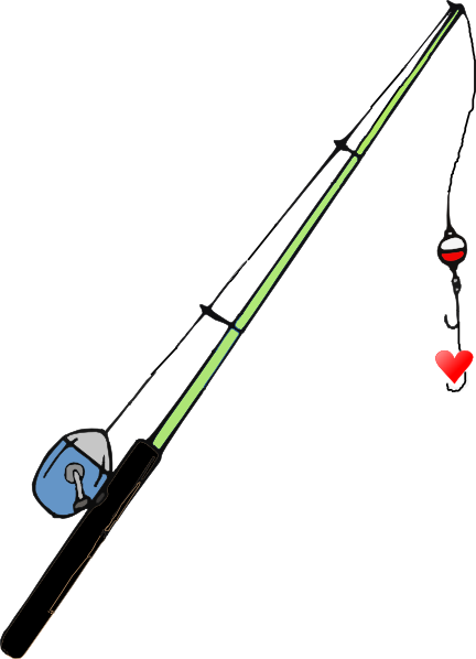 Download Free png Fishing Pole Heart Clip Art at pngio.com.