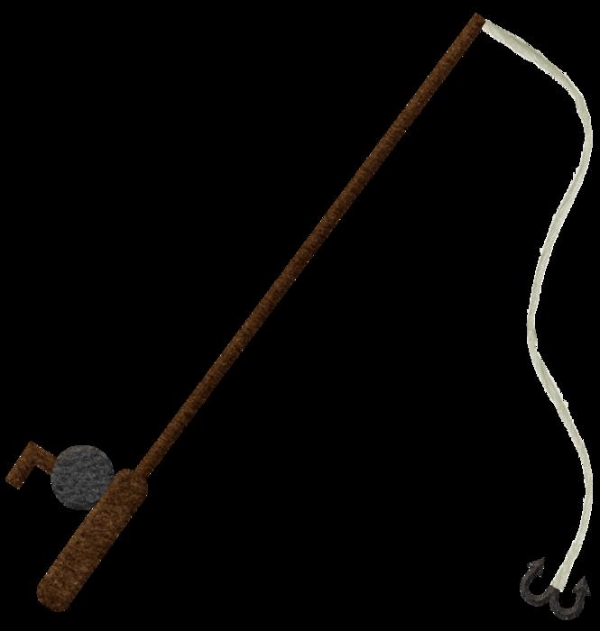 Fishing Pole PNG File.