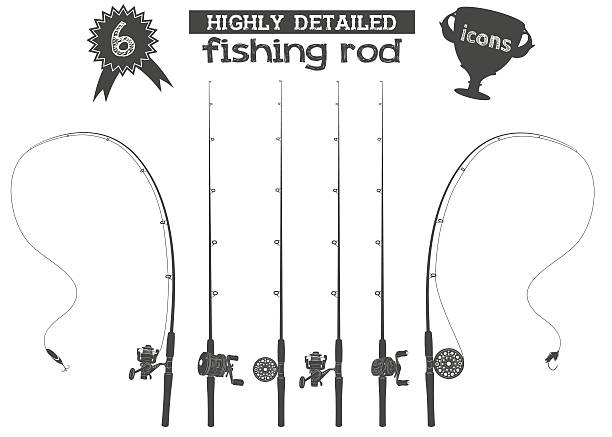 Best Fishing Reel Illustrations, Royalty.