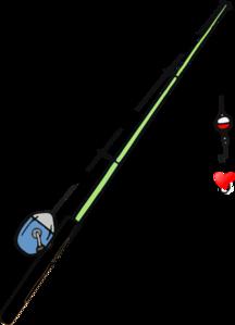 Fishing Pole Heart Clip Art at Clker.com.