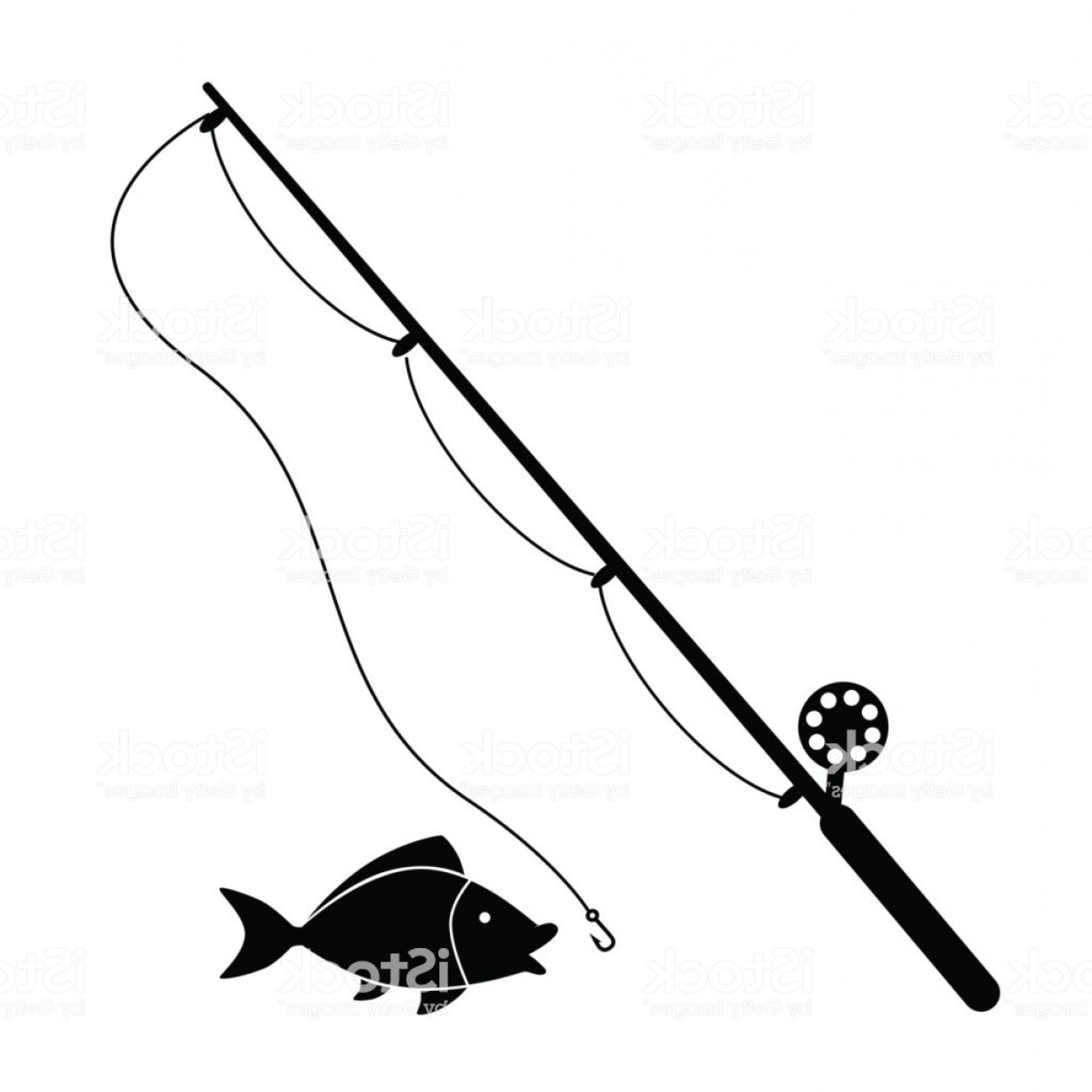 Vector Fishing Rod Clipart — The Writing Huntress.