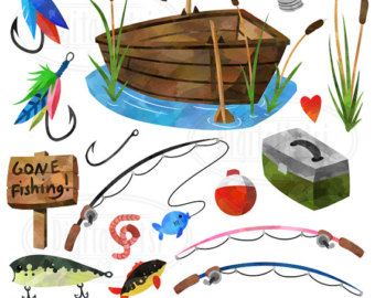 Fishing rods.