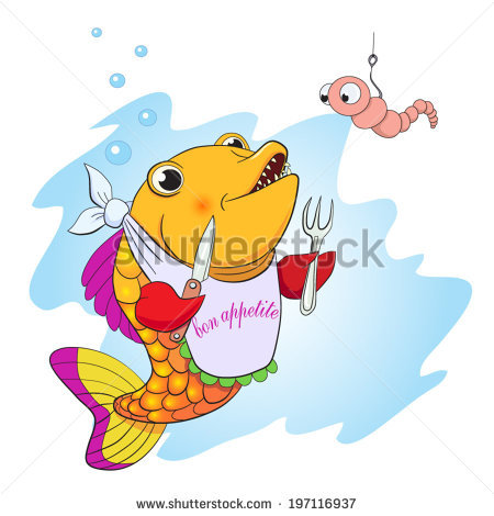 Catch Of Fish Stock Vectors, Images & Vector Art.