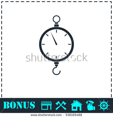 Fishing Weighing Doodle Stock Vector 358517699.