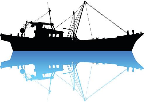 Fishing Boat Clip Art, Vector Images & Illustrations.