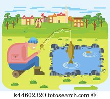 Fishing village Clip Art and Illustration. 114 fishing village.