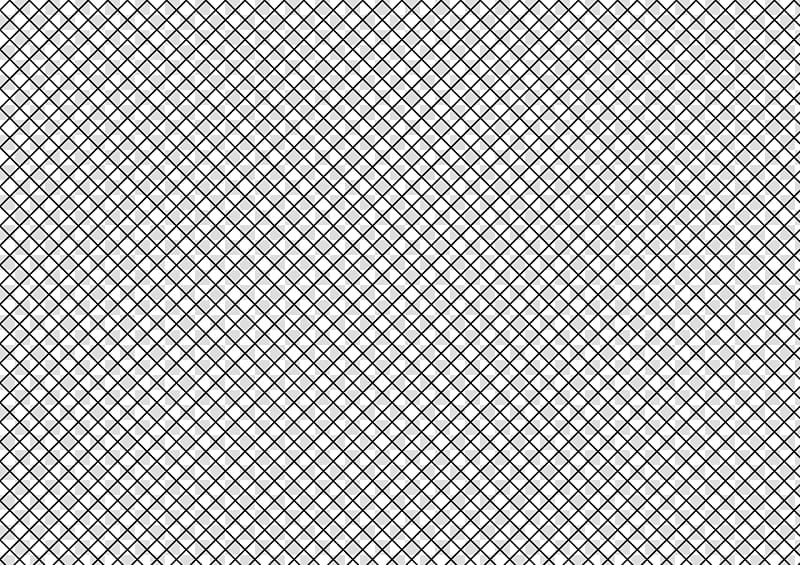 Fishnet Patterns, black screen illustration transparent background.