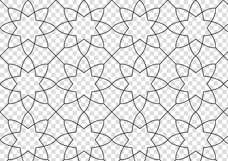 Fishnet Patterns, black star art transparent background PNG.