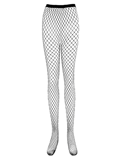 High Waisted Fishnet Tights.