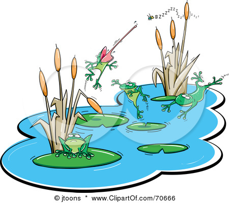 Clipart pond.