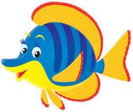 Tropisk Färgrik Fisk För Clipart Arkivbild.