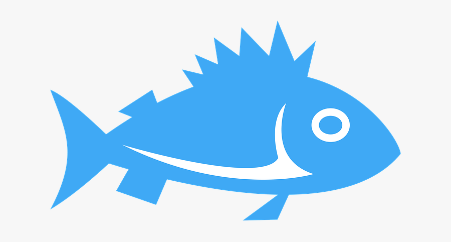 Clipart, Fish, Sign, Icon, Cartoon, Water, Sea.