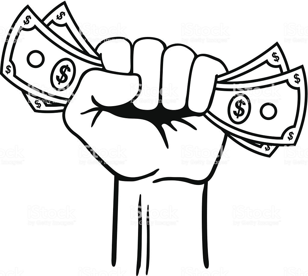 Fist Full of Money » Clipart Station.