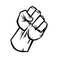 Fist Free Vector Art.