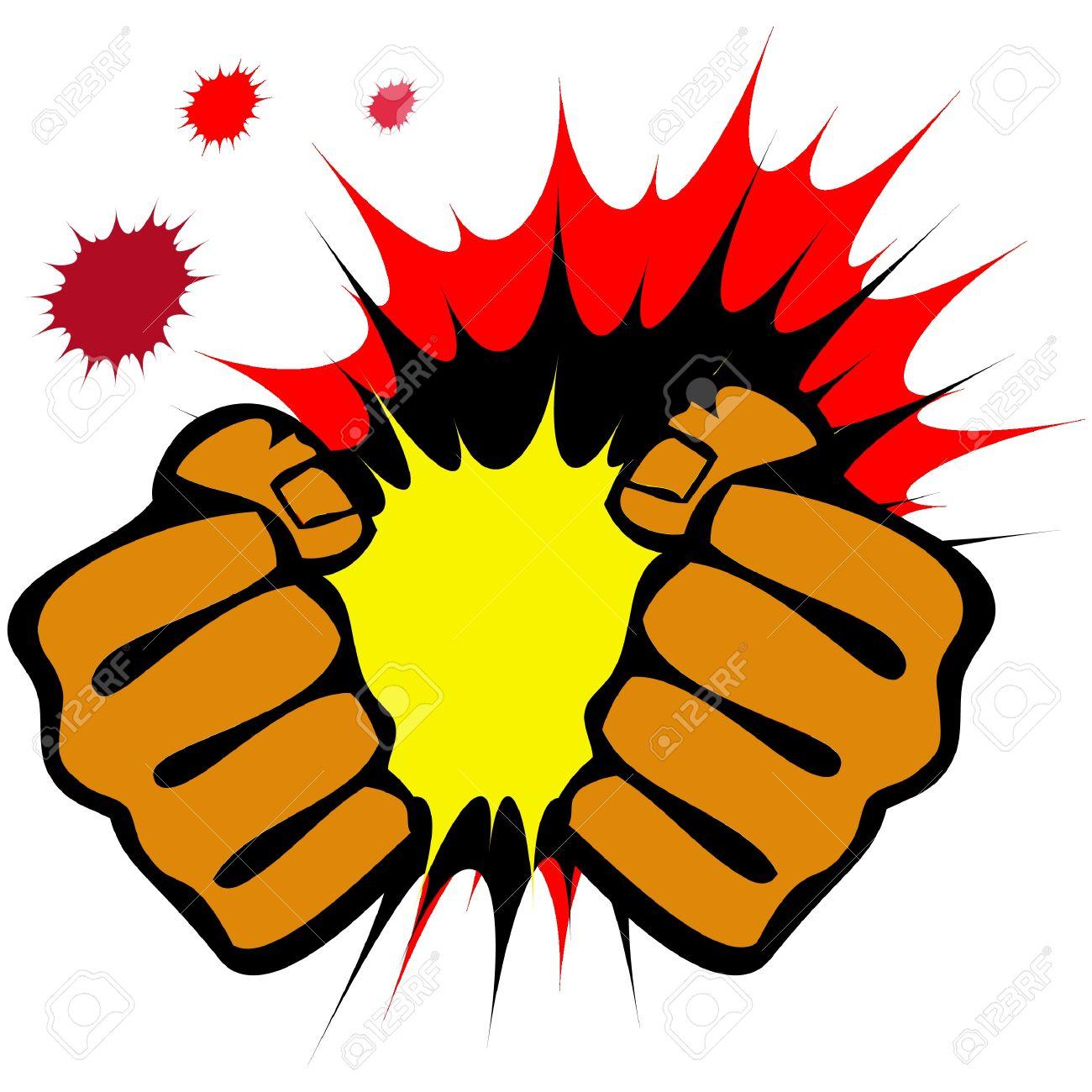 Martial arts fist clipart.