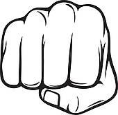 Fist Clip Art.