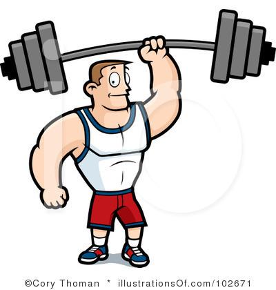 Fun Fitness Clipart.