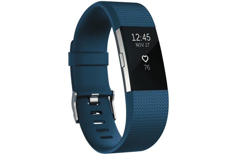 Fitbit 3352573 Charge 2 Blue Silver Small at The Good Guys.