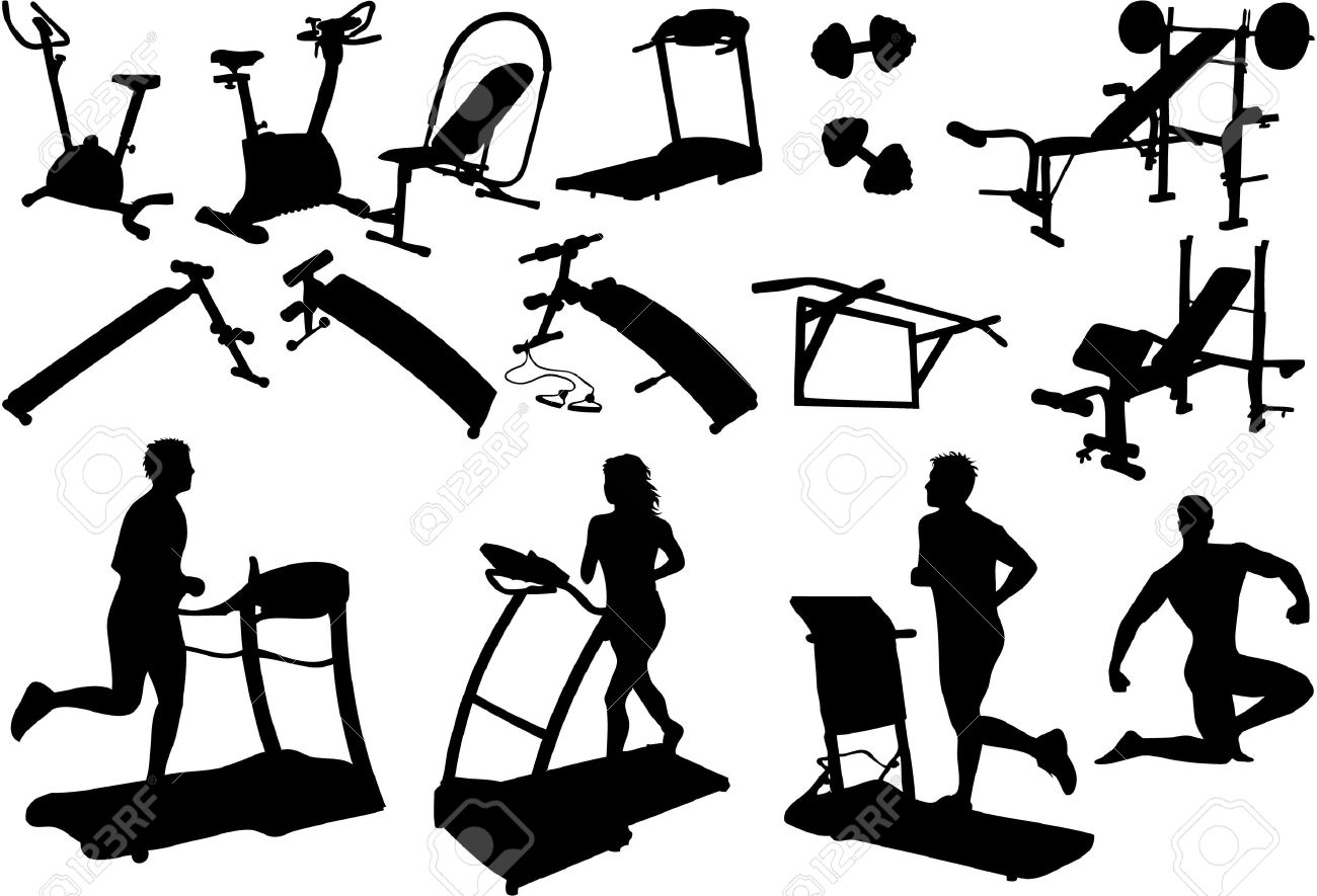 Fitness center clipart 1 » Clipart Station.