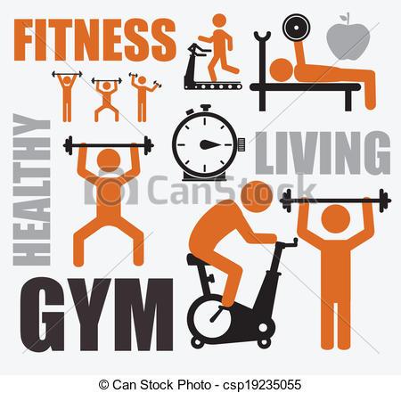 Fitness Clip Art & Fitness Clip Art Clip Art Images.