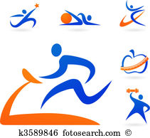 Fitness Clipart Royalty Free. 91,667 fitness clip art vector EPS.