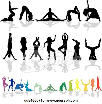 Group Fitness Clipart.
