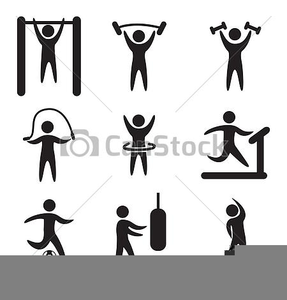 Royalty Free Fitness Clipart.