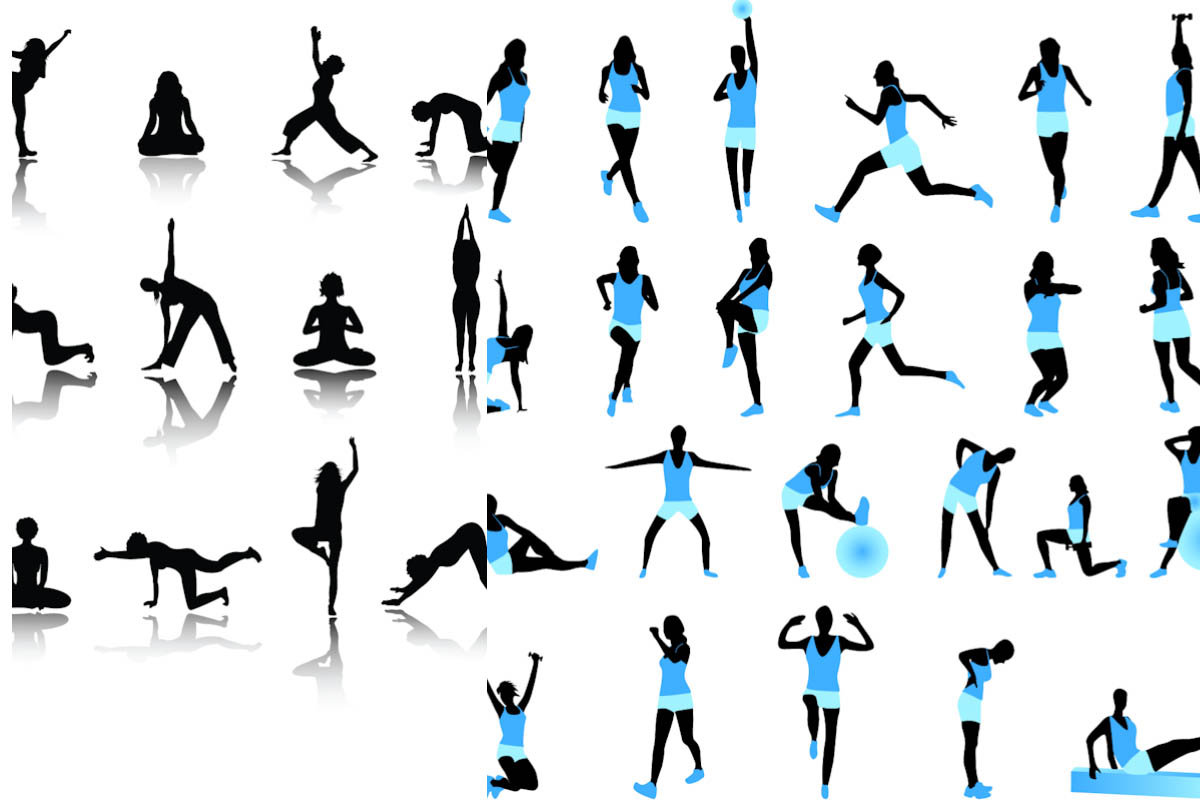 52+ Fitness Clipart Free.