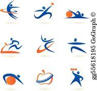 Fitness Clip Art.