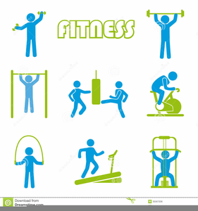 Free Animated Fitness Clipart.