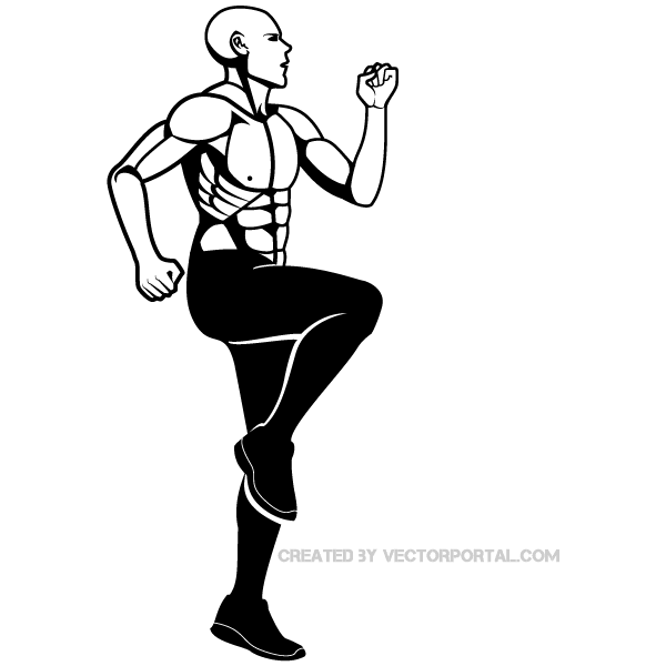 Fitness clip art image download free vector vectors.