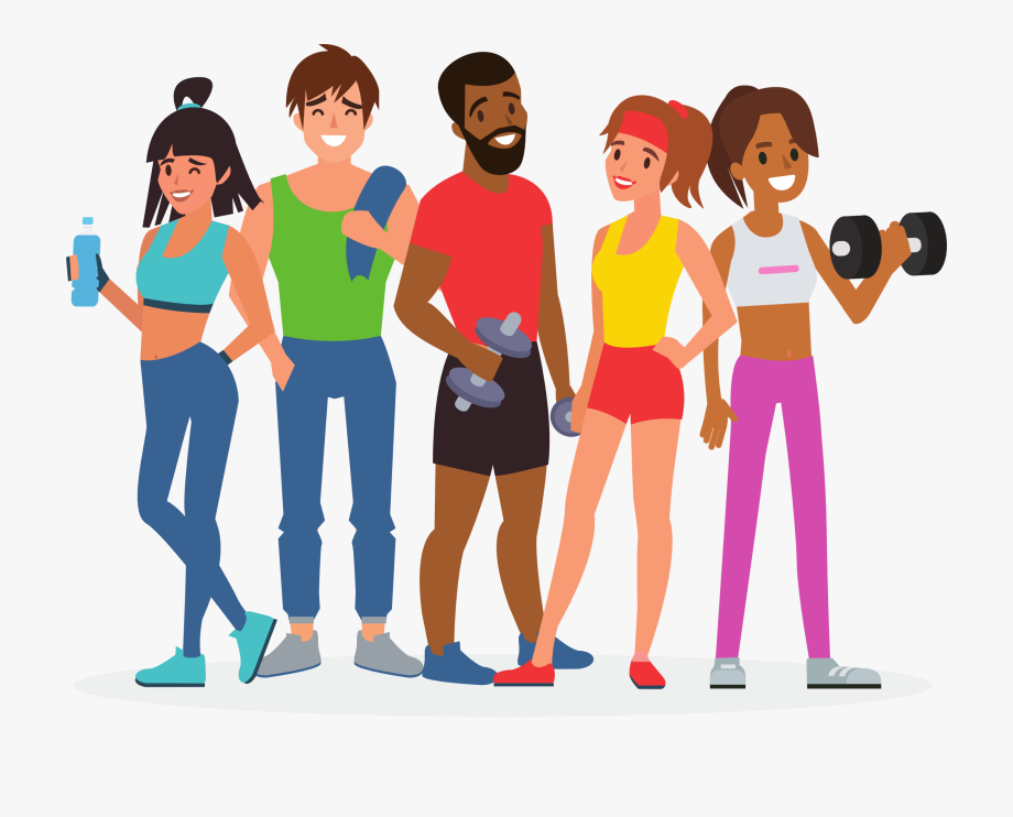Fitness Clipart Group Fitness.
