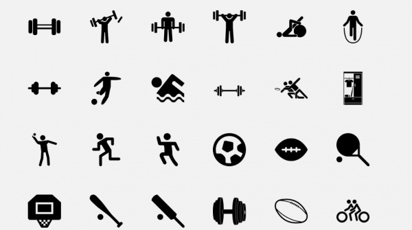 Fitness Icon Png #367300.